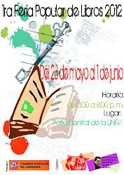 1.a Feria Popular de Libros UNFV 2012