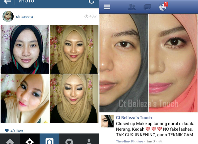 Review MUA CtNazeera
