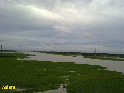 Dholeswary River in Dhaka