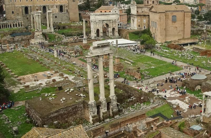 foro romano, ruinas romanas