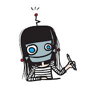 robot çizer kafası!