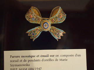 Maria Szymanowskia's Brooch at Polish Library, Paris, France