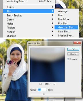 Tutorial Cara Cepat Membuat Efek Blur pada Background dengan Photoshop