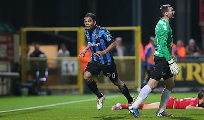 Carlos Bacca es el goleador del fútbol Belga