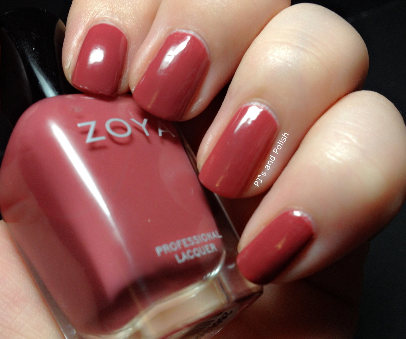 Swatch and Review Zoya Kate HK Girl