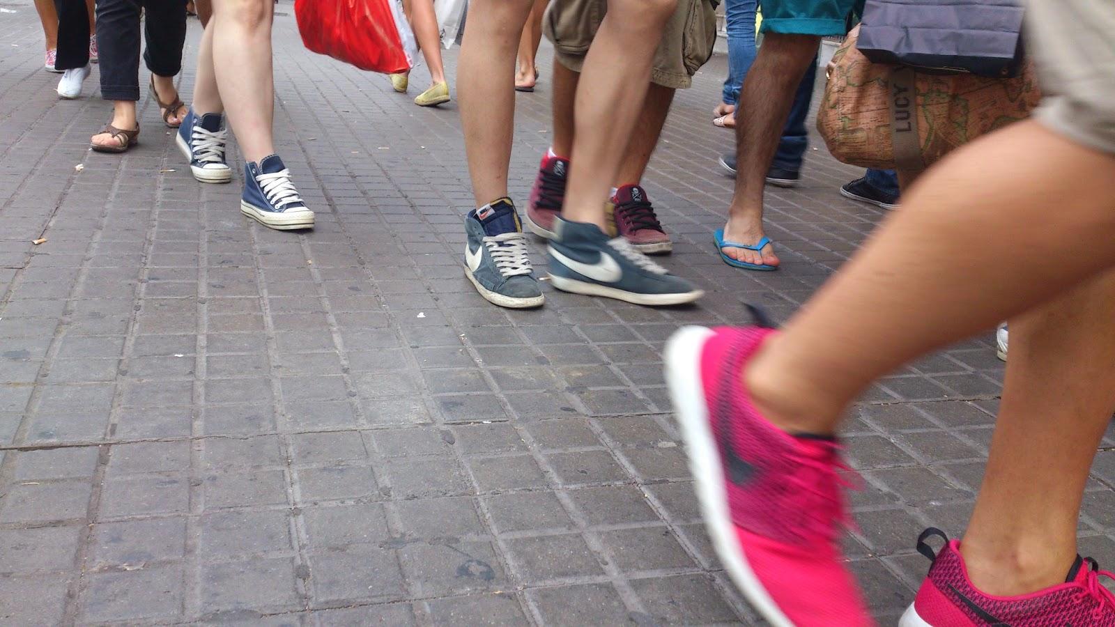 esquina Rambla de Barcelona / Calle Pelayo es alucinante