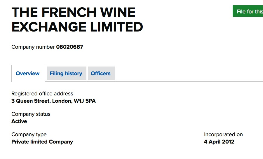 Beautiful French Wine Exchange Ltd: U0027Experienced Brokers Will Help You To  Select,.....u0027!!