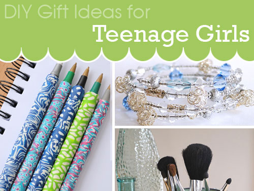 DIY gift ideas for teenage girls