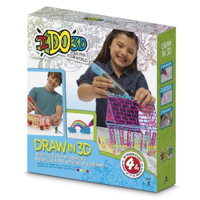 TOYS : JUGUETES - Ido 3D - Set 4 bolígrafos y accesorios Manualidades | Giochi Preziosi 55206 | A partir de 6 años Comprar en Amazon España