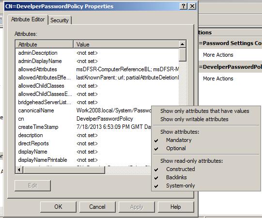 How to create Custom Password Policy