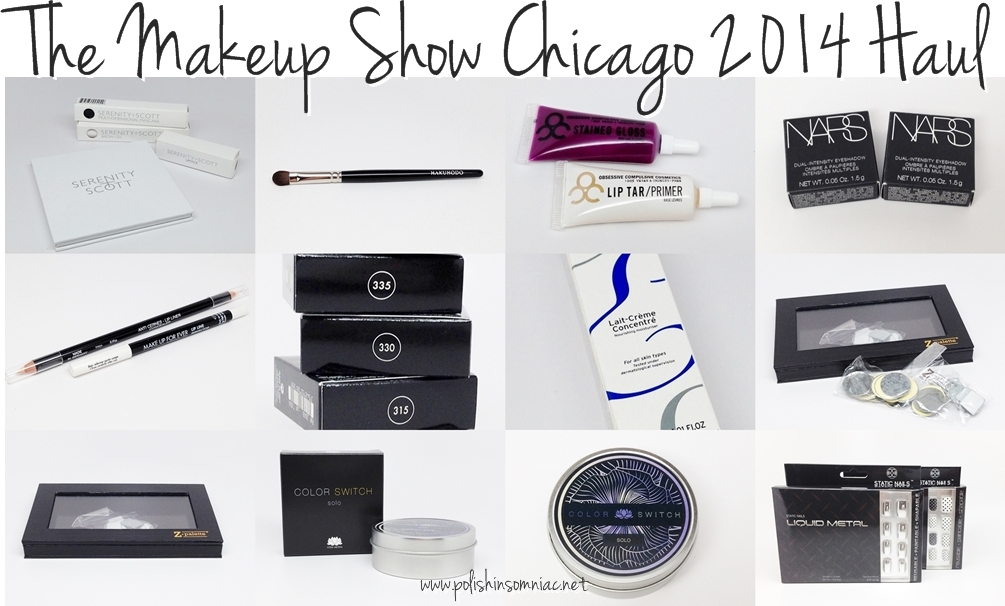 The Makeup Show Chicago 2014 Haul