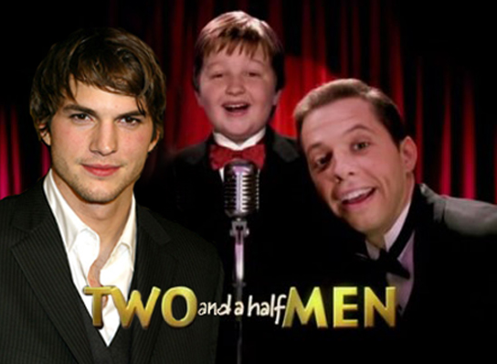 ashton kutcher two and a half men character. Ashton Kutcher Is Replacing
