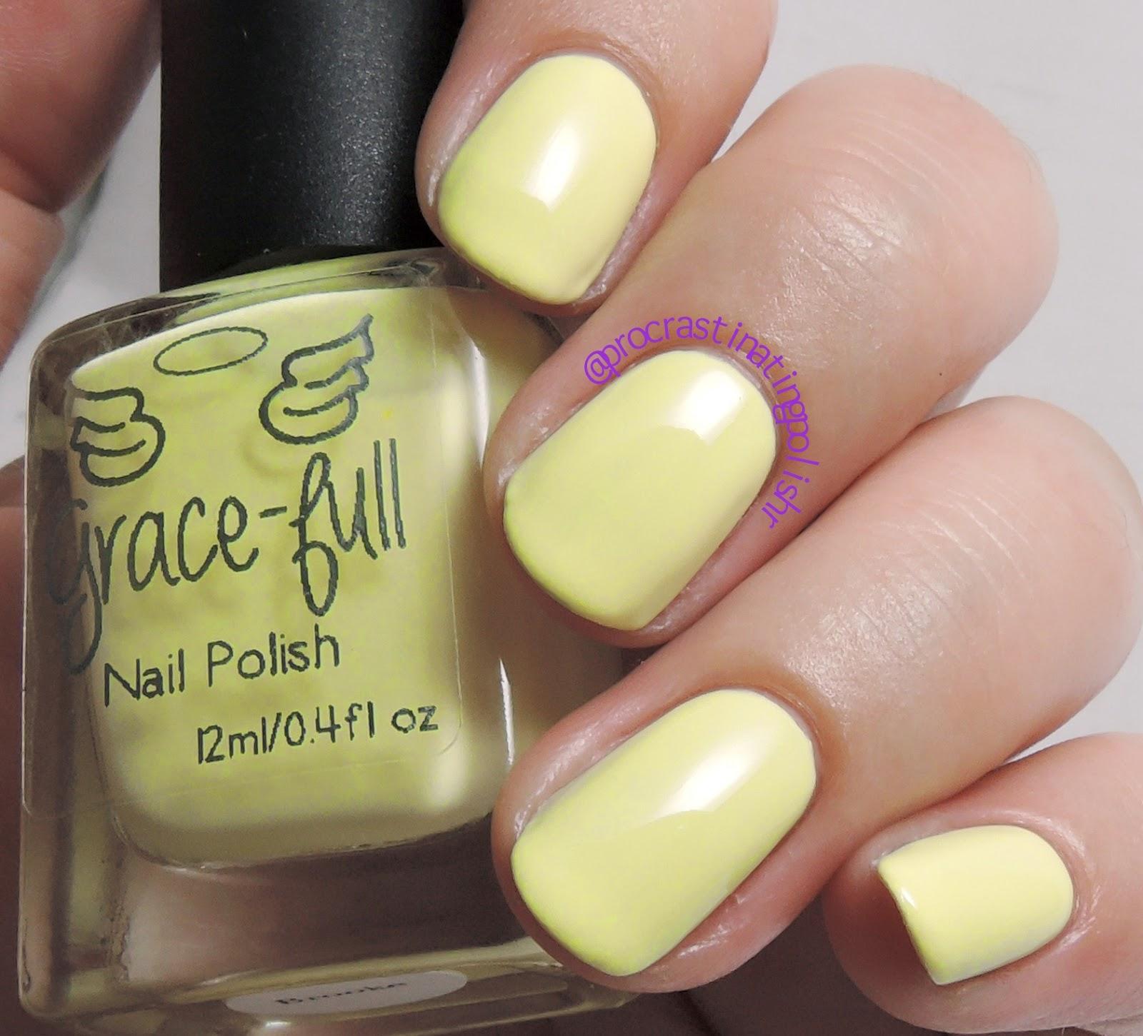 Grace-full Nail Polish - Brooke | Dreamy Beach