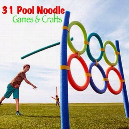 31 Cool Crafts & Games Using Pool Noodles