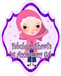 GA | Fabulouz Shawl's 1st Anniversary Giveaway