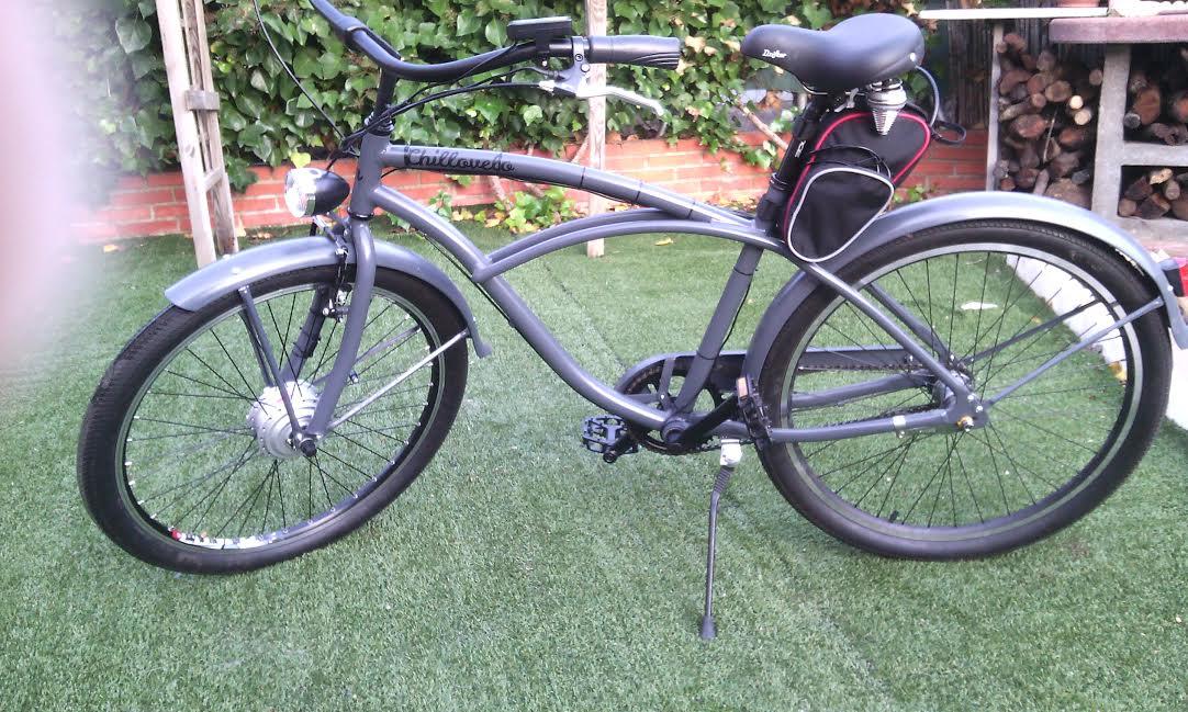 Motorización de bicicleta holandesa