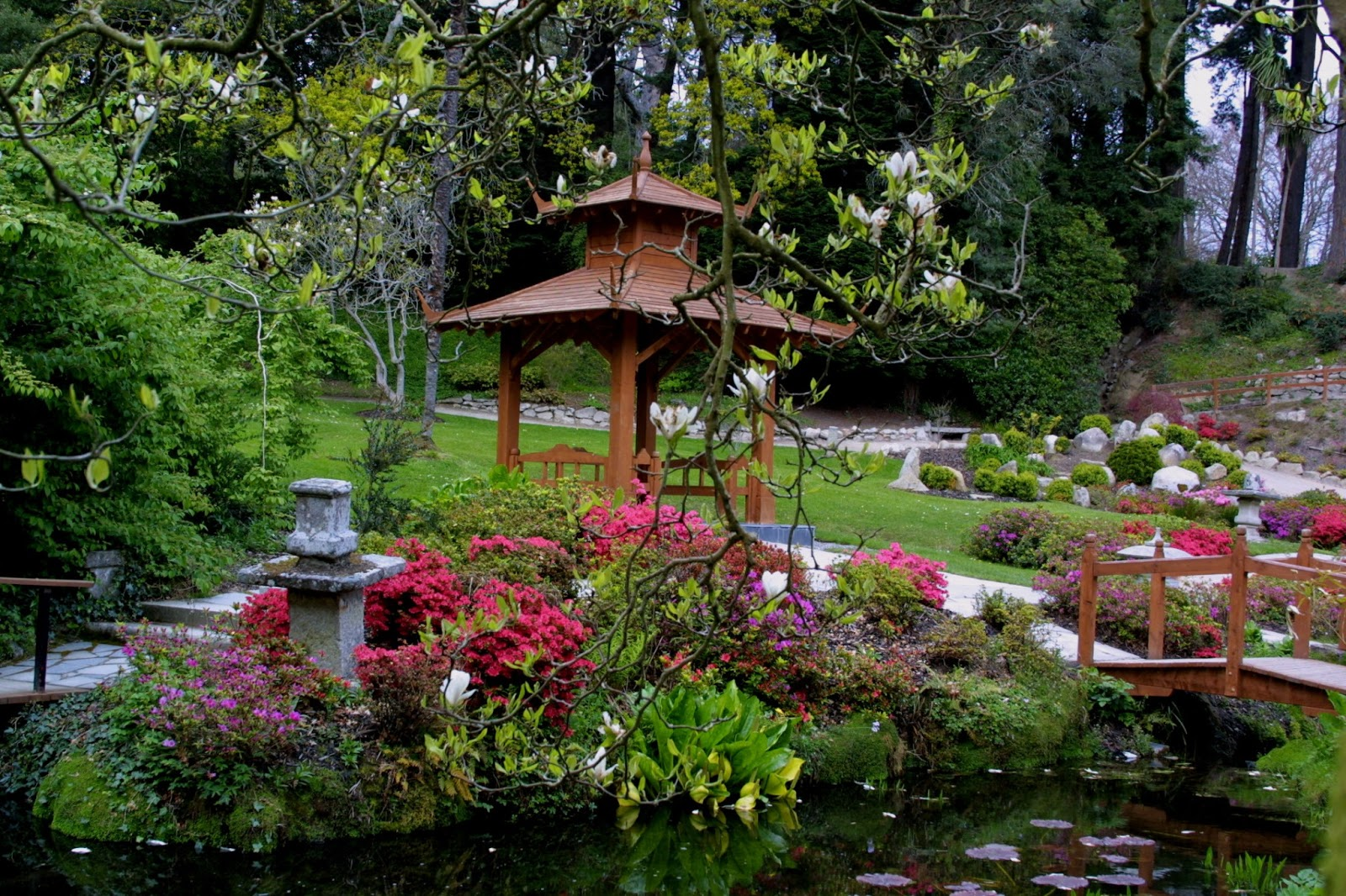 Weddings at powerscourt house january 2013 - Japanese garden ...