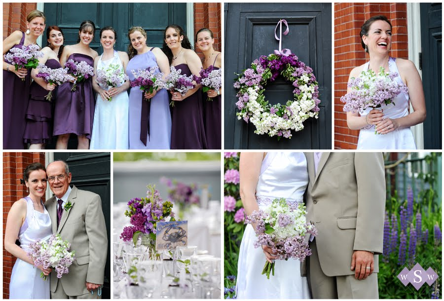 Maine Wedding Photographer Samantha Warren Weddings lilac inspiration board