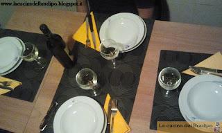 ecco a voi la cena col tonnotto!!!!
