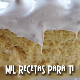 Torta ó Tarta Tres leches
