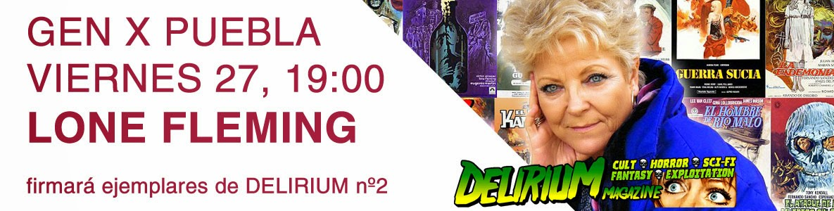 Horror Rise from Spain presenta Delirium Magazine en Madrid