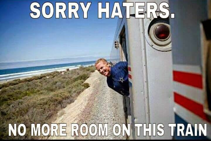 sorry haters. no more room on this train. #JasonGarrett #Cowboys #Train