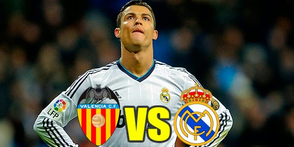 Valencia vs Real Madrid La Liga 2014-2015