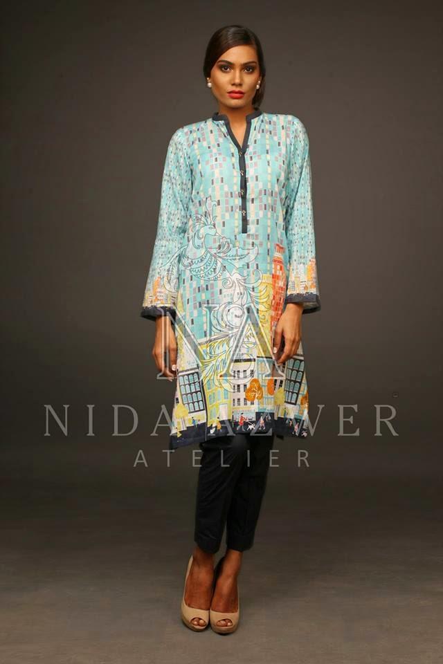 Nida Azwer Eid Lawn Collection