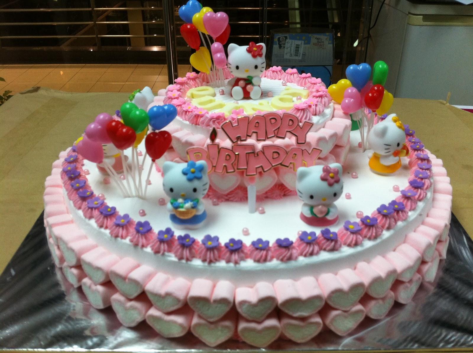 Haven Bakery Hello Kitty Birthday Cake