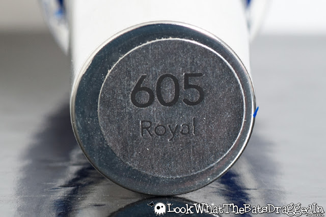 Revlon Royal nail polish swatch bottle shot