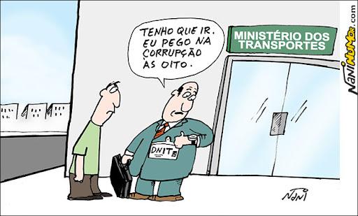Enquanto isso, no Ministério dos Transportes