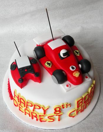 The Cake Shop Rc Car Birthday Car Cake