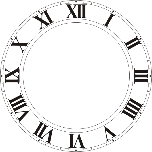 Force 5 Happenings Roman Numeral Four And The Clock