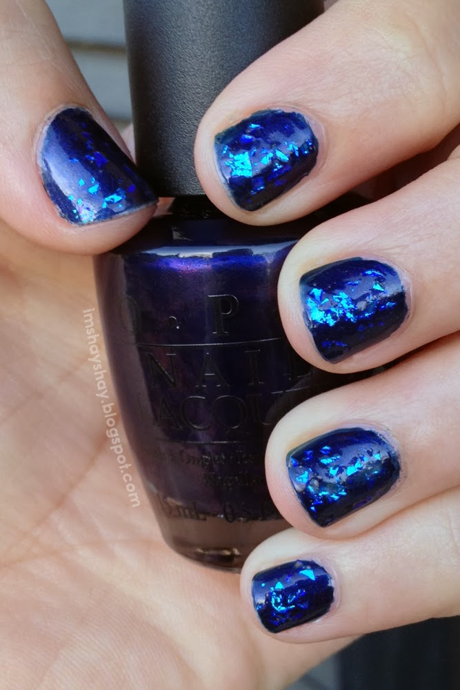 Deep Blue Sea Nails | imshayshay.blogspot.com