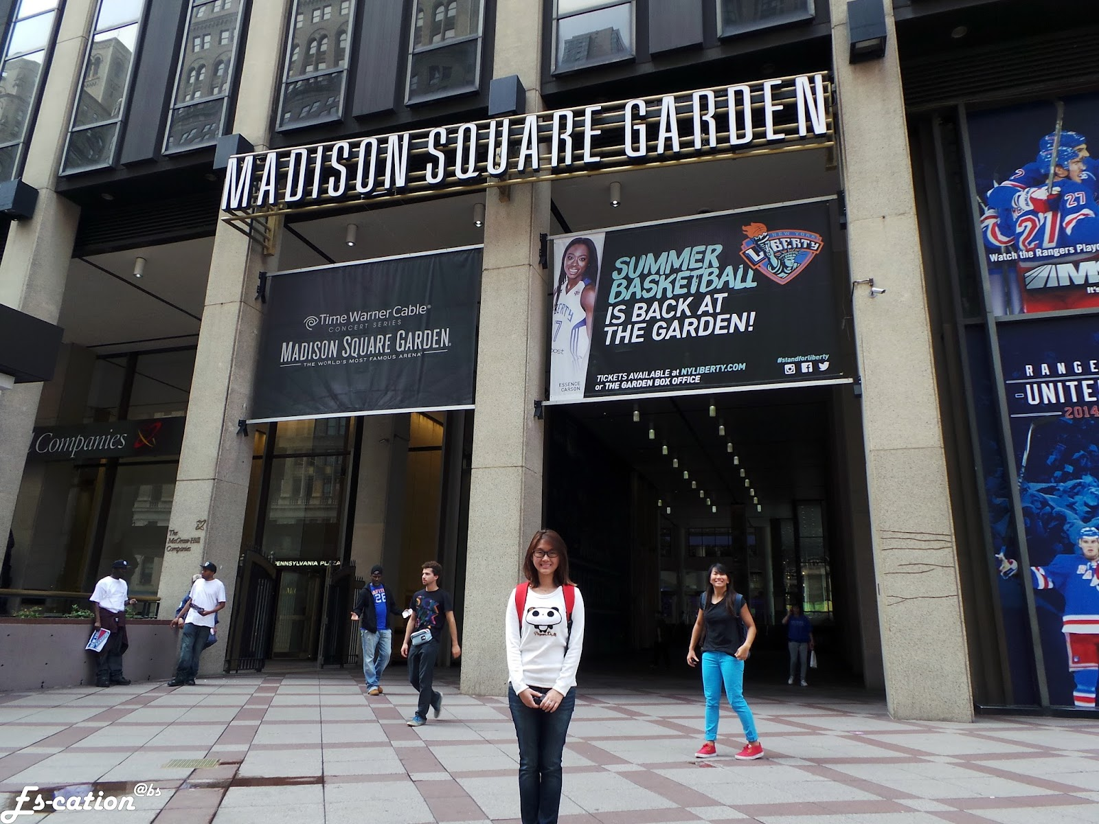 Es Cation New York Madison Square Garden All Access Tour
