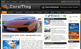 CarsMag Blogger Template
