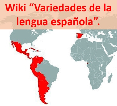 Variedades de la lengua española