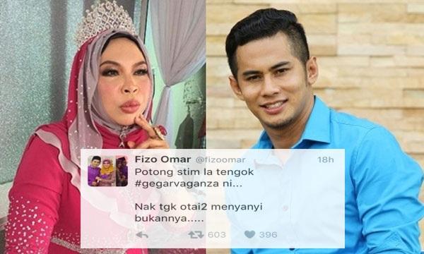 Inilah Respon Dato' Vida Berhubung Tweet Fizo Omar Dikecam Netizen