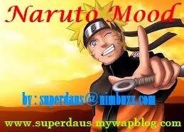 NarutoMood Emote Karakter Naruto for Java dan Symbian Nabi