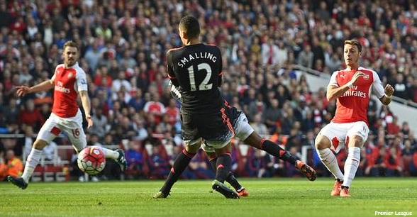 Arsenal Sikat Manchester United tiga Gol Tanpa Balas, Skor Akhir (3-0)