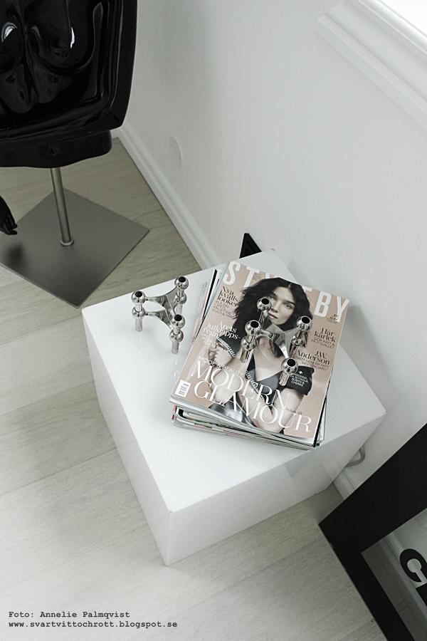 H&M bok, tio år av samarbeten, kläddesigners, kläddesign, kläddesigner, Hennes & Mauritz, kläder, walk in closet, inredning, nagel ljusstake, ljuslåda, ljusbox, lampa, kub, kuber, fashion, tidning, tidningar, skyltdocka, skyltdockor, chanel, böcker, svart och vitt, svartvit, svartvita, detaljer, wic,