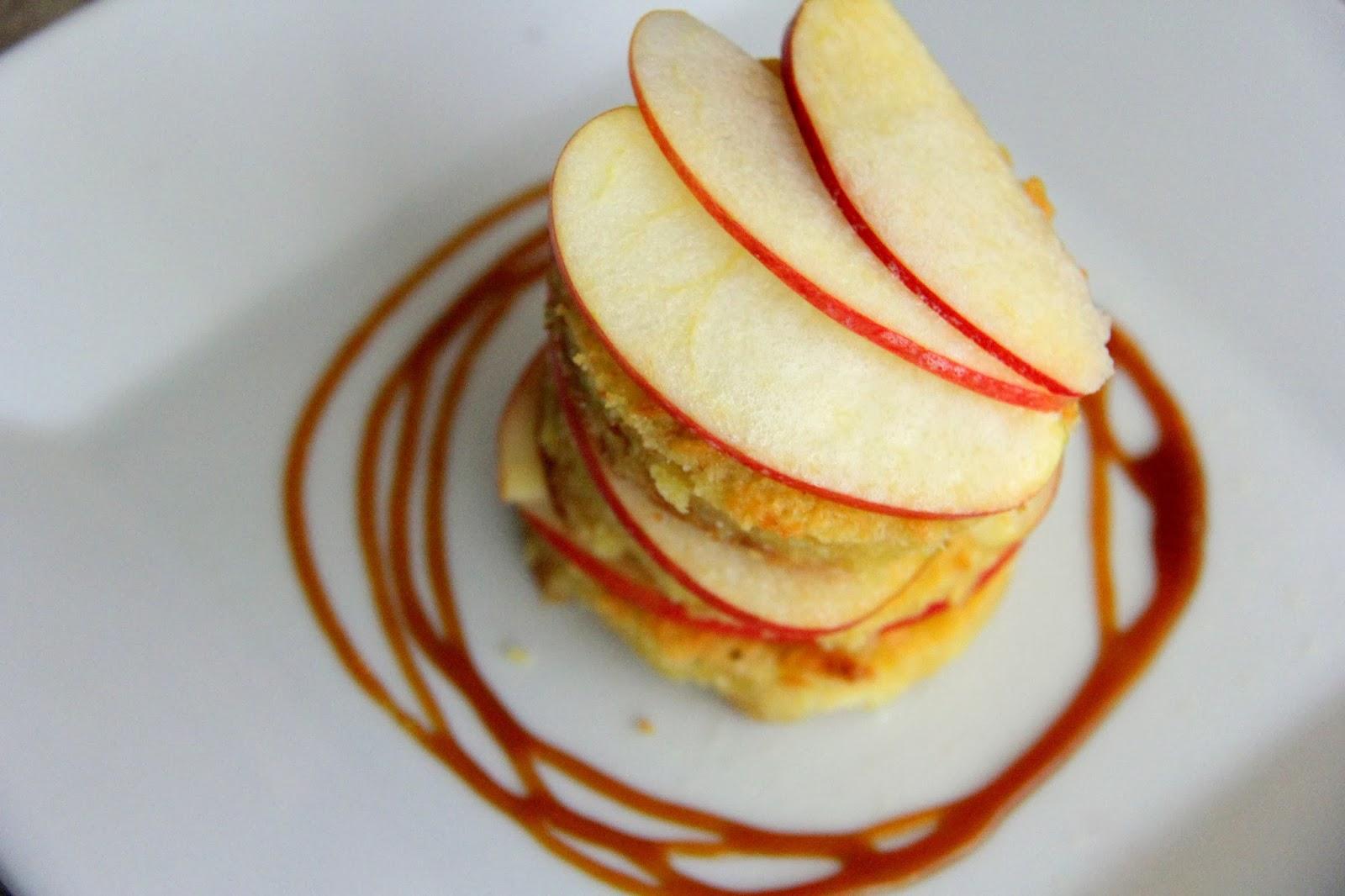 Oh My Pancake Fuji Apple Amp Caramel Bread Pudding