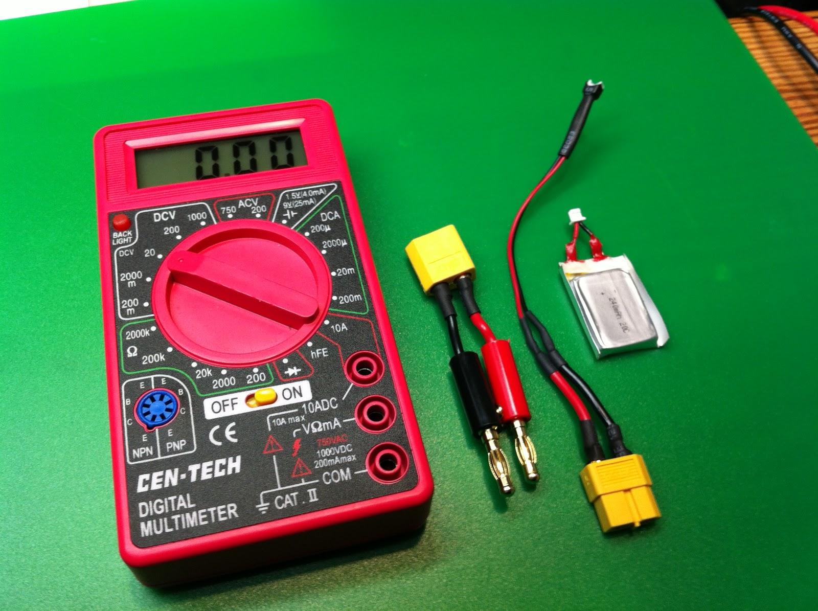 eastbay rc easily measure 1s battery voltage. Black Bedroom Furniture Sets. Home Design Ideas