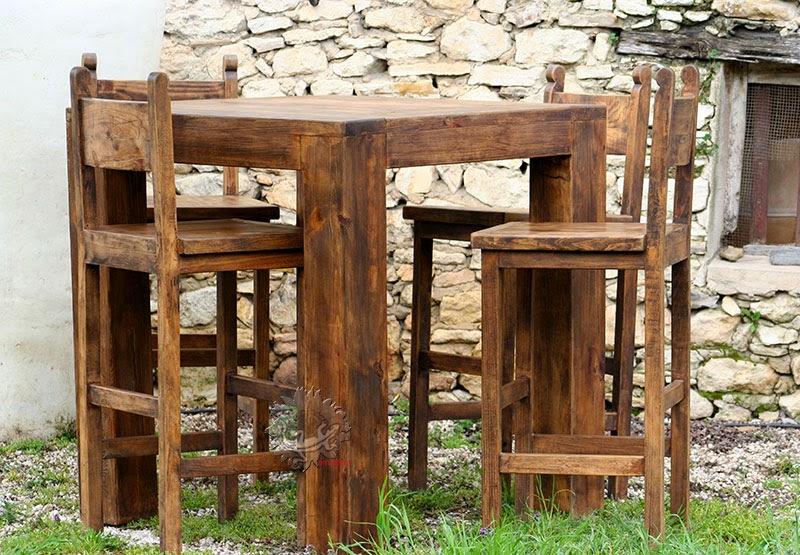 Amadera meuble et d coration le charme thique du for Chaise de bar orange aixen provence