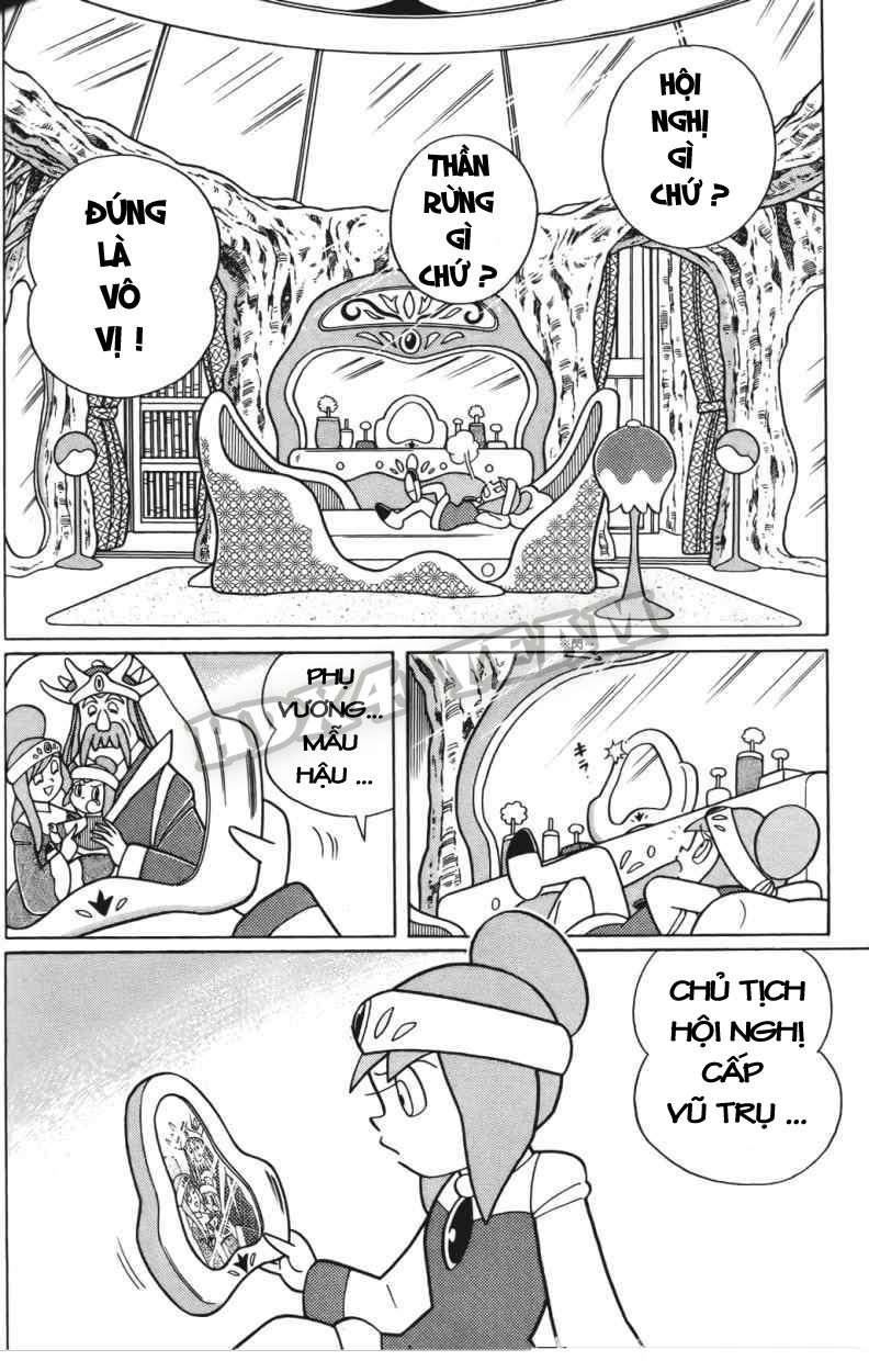 Truyện tranh Doraemon Dài Tập 25 - Nobita và truyền thuyết thần rừng trang 101