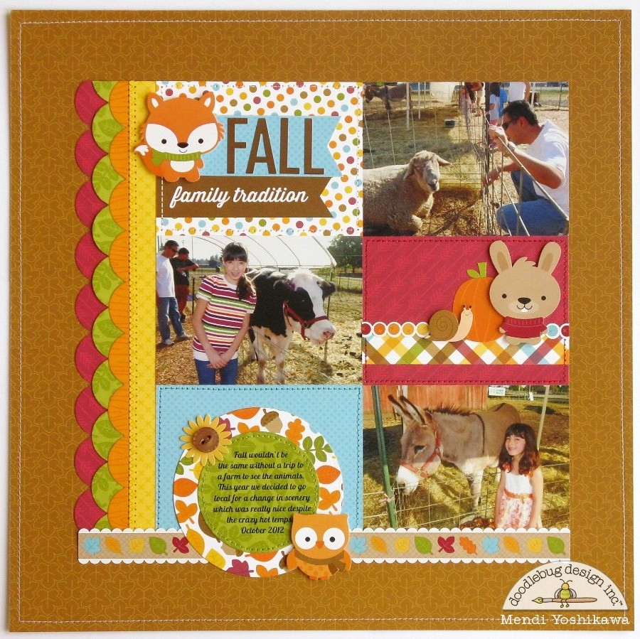 Scrapbook ideas about friends - Doodlebug Designs Scrapbook Baby Scrapbooking Pic Layouts 900x899