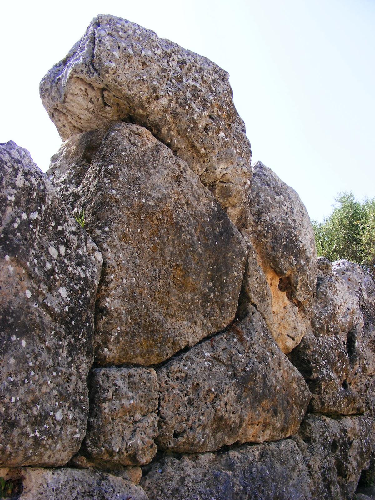 Nekromanteion stones