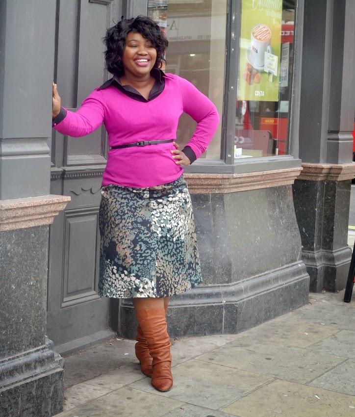 Burda Canvas Skirt