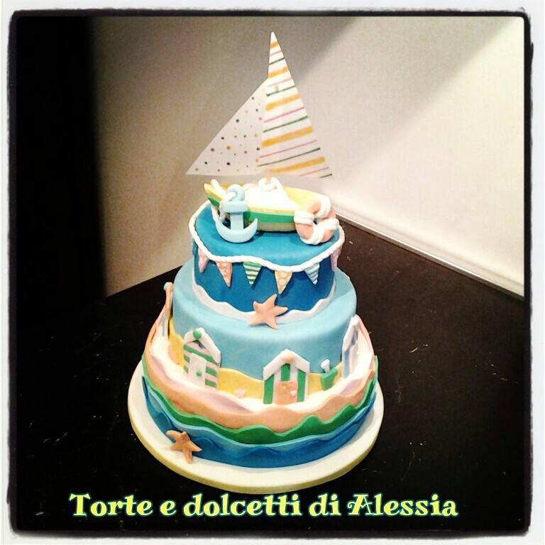 Creattivamente tutto il mare in una torta for Piani di trama per la mia casa