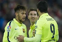 Messi, Neymar and Luis Suarez tear Bayern apart